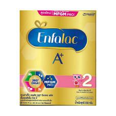 เอนฟาแลคเอพลัส นมผงสูตร 2 สำหรับทารกและเด็กเล็ก อายุ 6 เดือนขึ้นไป 550 กรัม