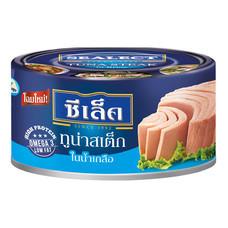 ทูน่าสเต็กในน้ำเกลือซีเล็ค 165กรัม