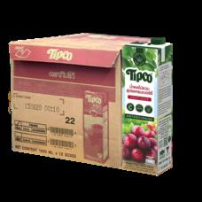 ทิปโก้ น้ำผลไม้รวม สูตรแครนเบอร์รี่ 100% 1000 มล. (ยกลัง 12 กล่อง)