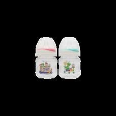 เพียวรีนขวดนมไทรตันทอยสตรอรี่ คอกว้าง 4 oz.x 2-สี (แดง+เขียว)