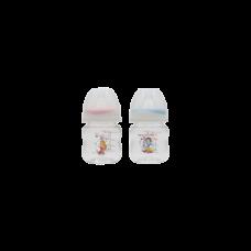 เพียวรีนขวดนมไทรตันปริ้นเซส คอกว้าง 4oz.x2-สี (เขียว+ชมพู)
