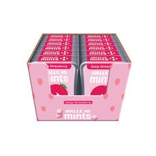 ฮอลล์ ลูกอมฮอลล์เอ็กเอสมินต์สตรอเบอร์รี่กล่อง 18 กรัม (แพ็ก 12 )