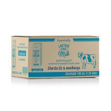 นม UHT เอสเซ็นเชียลลี่ฟรีแลคโตสพร่อง 180 มิลลิลิตร  (ขายยกลัง 24 กล่อง)