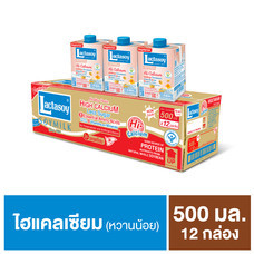 แลคตาซอย เจ นมถั่วเหลือง UHT 500 มิลลิลิตร (ขายยกลัง 12 กล่อง)