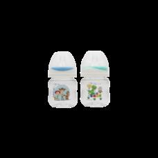 เพียวรีนขวดนมไทรตันทอยสตรอรี่ คอกว้าง 4 oz.x 2-สี (ฟ้า+เขียว)