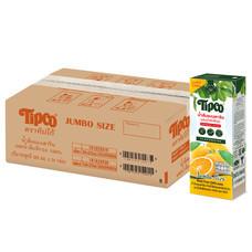 ทิปโก้ น้ำส้มแมนดารินผสมน้ำส้มสีทอง 100% ขนาด 225 มล. (ยกลัง 24 กล่อง)