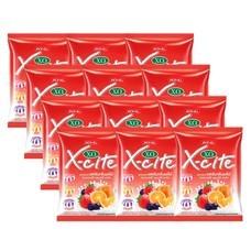 เอ็กซ์ไซด์ลูกอมรวมรสครีมกลิ่นผลไม้ 35.2 กรัม แพ็ก 12