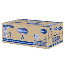 UHT เอนฟาโกรสูตร3จืด  180 มิลลิลิตร (ขายยกลัง 36กล่อง)