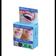 ภูมิพฤกษายาสีฟันสมุนไพร แบบตลับ 5กรัม (แพ็ก6)