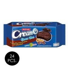 ครีมโอ คุกกี้ช็อกโกพลัส รสช็อกโกแลต 80 กรัม (ยกลัง 24 ชิ้น)