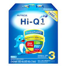 ดูเม็กซ์ไฮคิววันพลัสพรีไบโอโพรเทก นมผงสูตร 3 รสจืด สำหรับเด็กอายุ 1 ปีขึ้นไป 1,800 ก.