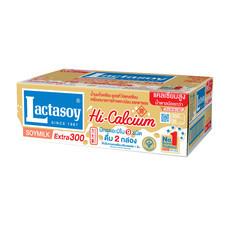 แลคตาซอย เจ นมถั่วเหลืองUHT 300มิลลิลิตร (ขายยกลัง 36 กล่อง)