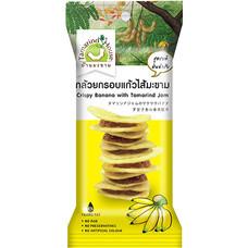 บ้านมะขาม กล้วยกรอบแก้วไส้มะขาม 40 กรัม