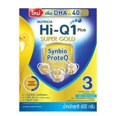 ดูเม็กซ์ไฮคิวซูเปอร์โกลด์ นมผงสูตร 3 สำหรับเด็ก อายุ 1 ปีขึ้นไป 600 ก.