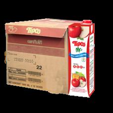 ทิปโก้ มี น้ำแอปเปิ้ล และน้ำองุ่นรวม 1000 มล. (ยกลัง 12 กล่อง)