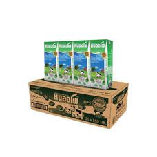 หนองโพ นมUHT รสหวาน 180 มิลลิลิตร (ขายยกลัง 36 กล่อง)