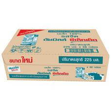 ดัชมิลล์ นมUHT รสจืด 225 มิลลิลิตร (ขายยกลัง 36 กล่อง)
