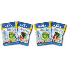 ดินเบา Nara คละสี แพ็ก4