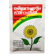ดอกไม้เมล็ดฟักทองกะเทาะเปลือก 25 กรัม