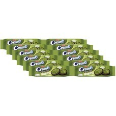 คุกกี้ครีมโอช็อกโกพลัสชาเขียว60กรัมแพ็ก12