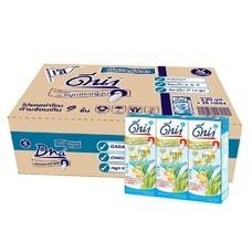 ดีน่า นมถั่วเหลืองUHT ไบโอกาบาน้ำตาลน้อย 230 มิลลิลิตร (ขายยกลัง 36 กล่อง)
