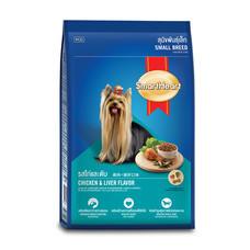 สมาร์ทฮาร์ทอาหารสุนัขพันธุ์เล็ก  รสไก่ตับ 3 กิโลกรัม