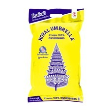 ฉัตรเพชร ข้าวขาวหอมมะลิ 100% 5 กิโลกรัม