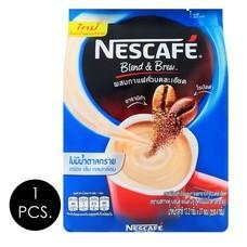 เนสกาแฟ เบลนด์แอนด์บรูไม่มีน้ำตาล 12.2 กรัม (27 ซอง/ถุง)