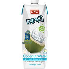 ยูเอฟซี รีเฟรช น้ำมะพร้าว 100% ปริมาณ 1 ลิตร