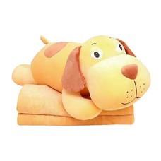 หมอนผ้าห่มตุ๊กตานุ่มนิ่ม ลายน้องหมา