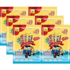 ทาโรเส้น คละรสชาติ รุ่นทัวร์จีน (4+1) 125 กรัม แพ็ก 6