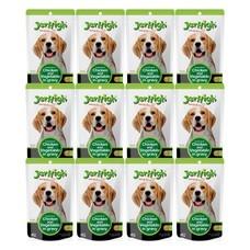 อาหารสุนัขเปียกเจอร์ไฮ ไก่และผัก 120ก. (1แพ็ก 12 ซอง)