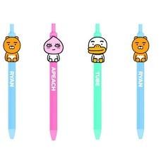 KIAN-DA ปากกาเจลแถบซิลิโคน KAKAO FRIENDS คละแบบ  บรรจุ 1 แพ็ก 4 ชิ้น