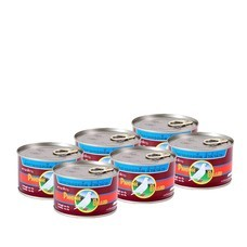 นกพิราบผักกาดดองฝาดึง 230 กรัม (แพ็ก 6)