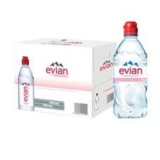 เอเวียง น้ำแร่ธรรมชาติ 750 มล. จุกสปอร์ต (ยกลัง 12 ขวด)