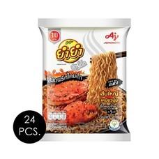 ยำยำสูตรเด็ดซองแบบแห้ง รสปูผัดพริกไทยดำ 75 กรัม (ยกลัง 24 ซอง)