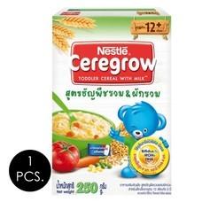 เนสท์เล่ซีรีโกรวธัญพืชผสมผักรวม 250 กรัม