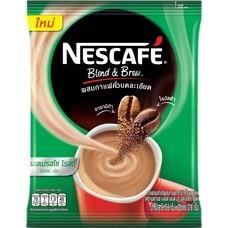 เนสกาแฟปรุงสำเร็จชนิดผง เบลนด์แอนด์บรู เอสเปรสโซ่ แพ็ค 20 ซอง