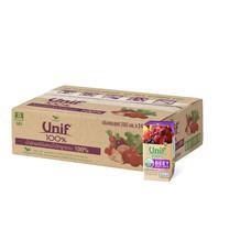 ยูนิฟ แครอทม่วงผสมผลไม้รวม100% 200 มิลลิลิตร (ยกลัง 24 กล่อง)