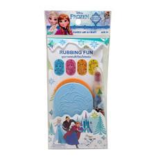 ชุดภาพฝนสีเทียน Frozen เสริมทักษะ คละแบบ (แพ๊ก4)