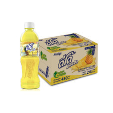ดีโด้ น้ำสับปะรด 450 มล. (ยกลัง 24 ขวด)