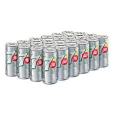 เซเว่นอัพฟรี (ไม่มีน้ำตาล) ขนาด 325 มล. (ยกลัง 24 กระป๋อง)