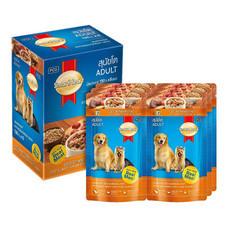 สมาร์ทฮาร์ท 7-Select อาหารสุนัขเปียกเนื้อ&ตับ (แพ็ก6)