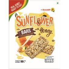ฟลาวเวอร์ฟู้ดเมล็ดทานตะวันแผ่นผสมน้ำผึ้ง 50 กรัม