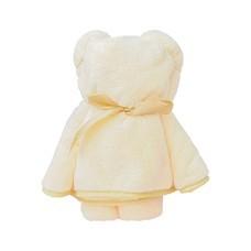 ชุดถุงของขวัญ ผ้าขนหนูน้องหมี สีครีม