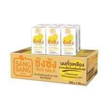 ซังซังนมถั่วเหลืองUHT 300 มิลลิลิตร แพ็ก 6 (ขายยกลัง 36 กล่อง)