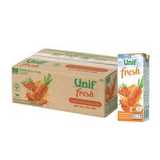 ยูนิฟเฟรช น้ำแครอทผสมผลไม้รวม 40%  (ยกลัง 24 ขวด)