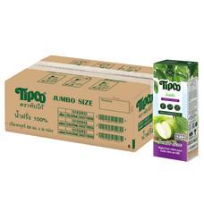 ทิปโก้ น้ำฝรั่ง 100% ขนาด 225 มล. (ยกลัง 24 กล่อง)