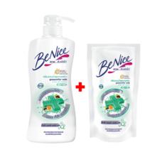 บีไนซ์ ครีมอาบน้ำแอคทีฟพลัส (สีเขียว) 450 มล.