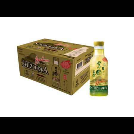 ชิซึโอกะ ชาเกียวคุโระ สูตรไม่มีน้ำตาล 440 มล. (ยกลัง 24 ขวด)